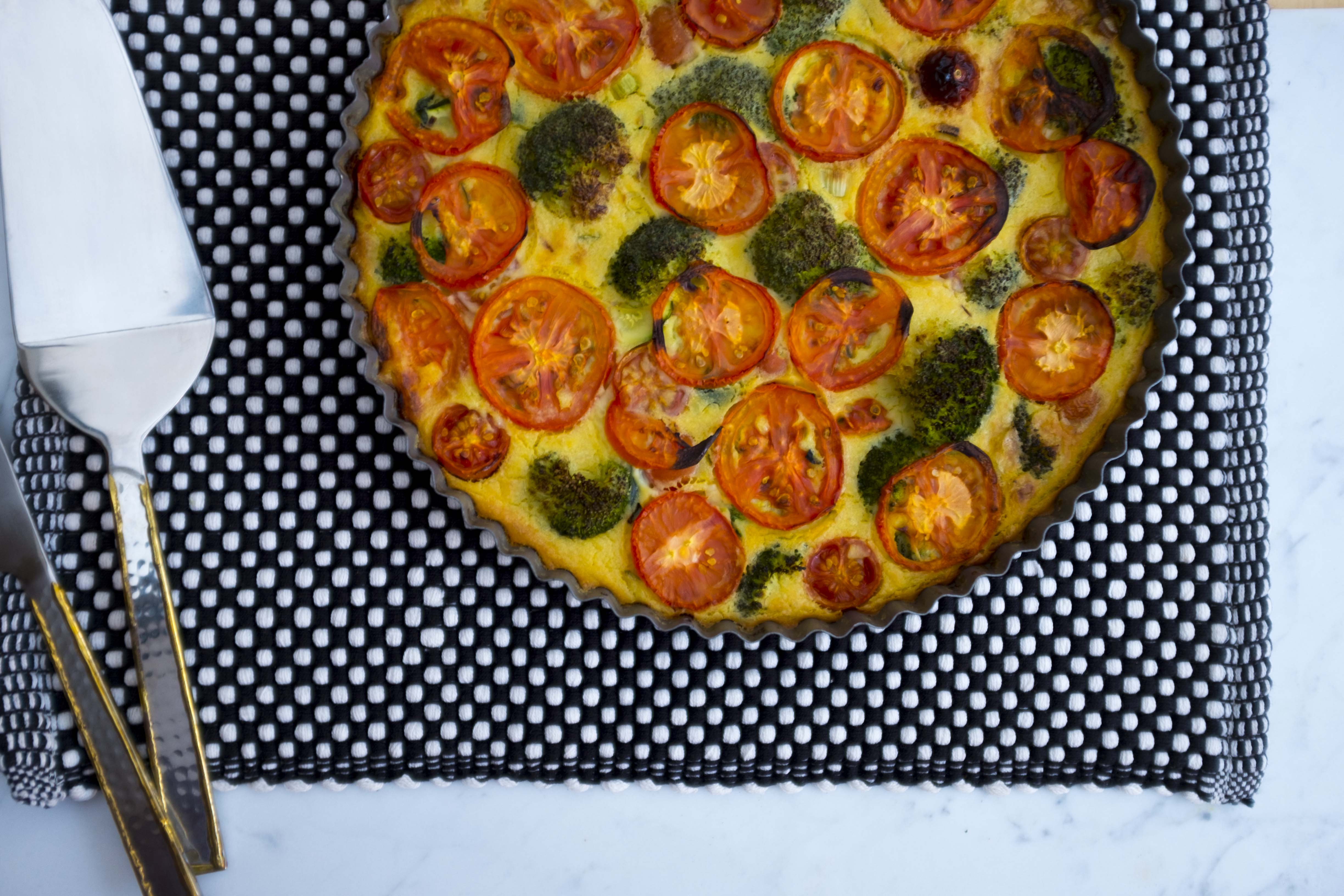 Quiche cooked r