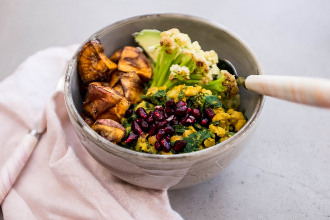 Chickpea bowl r