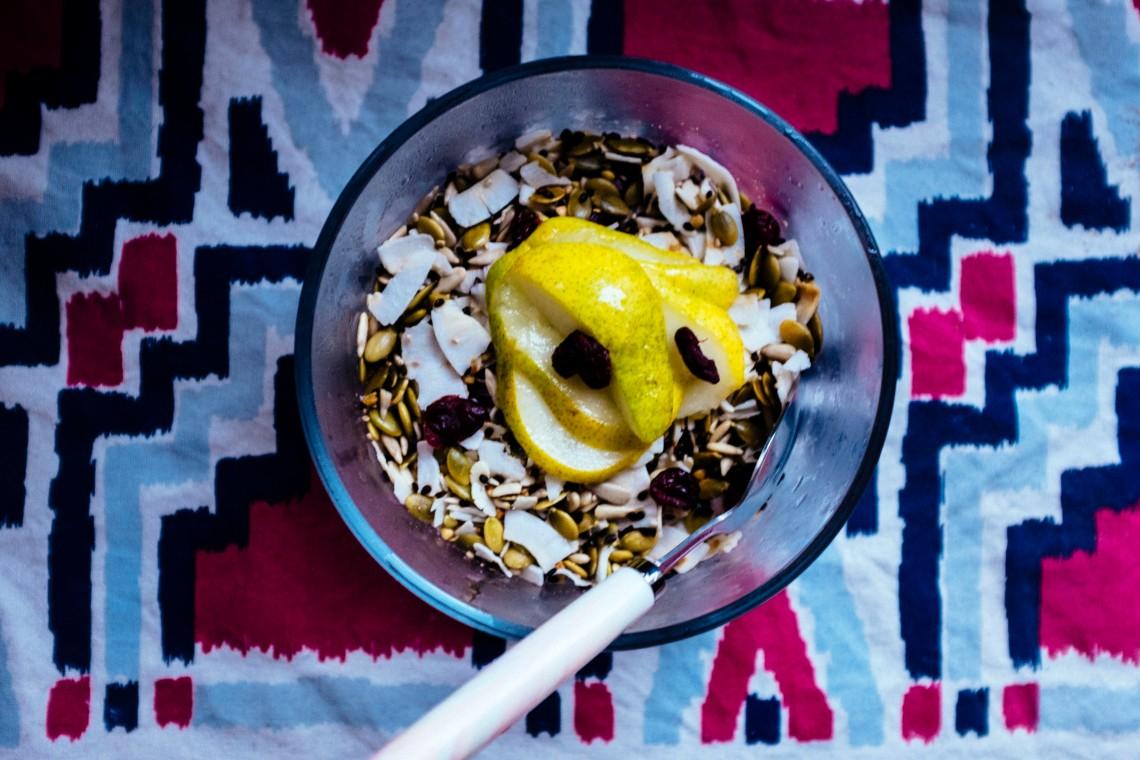Oat-free Bircher Muesli {gluten-free, vegan} - Kale Mary